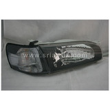 Toyota Corolla AE111 96 Black Crystal Headlamp Lighting