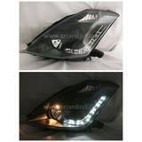 Nissan Fairlady 0305 Black Projector Headlamp w LED Lighting
