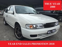 2000 NISSAN SENTRA 1.6 GLi (A) GOOD CONDITION
