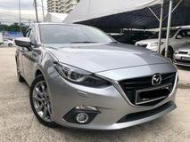2016 MAZDA 3 SPORT 2.0 SDN, Full Service by Mazda, HUD, Reverse Camera, Keyless, Original Paint, Call Now