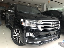 2017 TOYOTA LAND CRUISER ZX-G 4.6