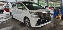 2017 TOYOTA VELLFIRE 2.5ZG Edition ACTUAL YEAR MAKE 2017 SST INCLUSIVE