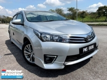 2016 TOYOTA ALTIS ALTIS 1.8G (A) NEW MODEL FACELIFT
