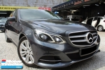 2014 MERCEDES-BENZ E-CLASS Mercedes Benz E200 2.0 (A) AVANTGARDE WARRANTY