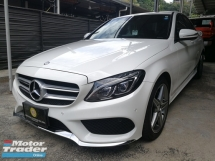 2015 MERCEDES-BENZ C-CLASS C180 AMG KEYLESS PUSH START JAPAN SPEC