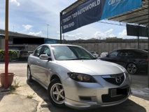 2007 MAZDA 3 SPORT 1.6 SEDAN BODYKITS TWO DIGIT NUMBER PLATE