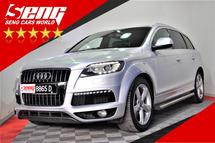 2012 AUDI Q7 Audi Q7 3.0 TDI Quattro P/Boot 8-SPD F/Lift