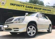 2001 TOYOTA HARRIER 300G L PACKAGE 3.0 SUV NICE CONDITION JUST BUY AND DRIVE