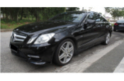 12 MERCEDES-BENZ E-CLASS E350 AMG SPEC COUPE