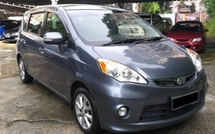 2012 PERODUA ALZA 1.5 ADVANCED Leather Seat VVip Owner Full Loan
