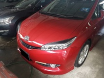 2009 TOYOTA WISH 1.8 X (ACTUAL YR MADE 2009)