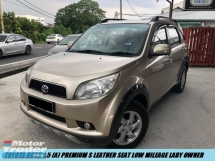 2012 TOYOTA RUSH 1.5S (AT) Facelift Full Spec Lady Owner Low Mileage