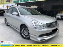 2010 NISSAN SYLPHY 2.0L LUXURY XE FULL SPEC FACELIFT FULL LEATHER SEAT VERY CLEAN INTERIOR NAVI PLAYER ORIGINAL IMPUL SPEC