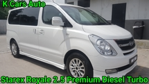 2012 HYUNDAI GRAND STAREX ROYALE 2.5 PREMIUM DIESEL TURBO 12 SEATS MPV EXCELLENT CONDITION