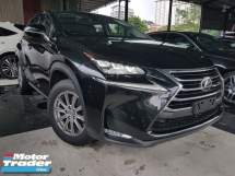 2015 LEXUS NX 2015 Lexus NX200T I Package 4WD Full Leather Head Up Display Pre Crash Unregister for sale