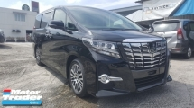 2017 TOYOTA ALPHARD 2.5 S C JBL S/ROOF LEATHER SEAT UNREG 1 YEAR WARRANTY