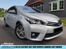 2016 TOYOTA COROLLA ALTIS 2.0 G FULL SPEC LOW MILEAGE LADY OWNER