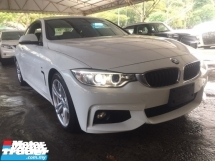 2015 BMW 4 SERIES 420I M SPORT COUPE NEWFACELIFT UNREG.INCLUDED SST.TRUE YEAR MADE CAN PROVE.PADDLE SHIFT.PRE CRASH N ETC.FREE WARRANTY N MANY GIFTS