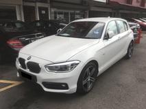 2017 BMW 1 SERIES 118 SPORT UW2022 (A) LIKE NEW