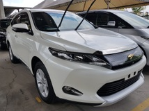 2015 TOYOTA HARRIER 2.0 Power Boot Surround camera Push Start keyless entry Unregistered