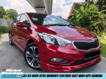 2016 KIA CERATO k3 high spec Keyless Leather Seat Low Mileage
