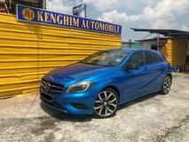 2014 MERCEDES-BENZ A-CLASS A200 TURBO LOCAL 1.6 TURBO PADDLESHIFT SPORTS