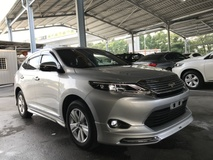 2017 TOYOTA HARRIER 2.0 PREMIUM SILVER PANORAMIC MODELLISTA POWER BOOTH 4 CAMERA 2017 JAPAN UNREG NO SST
