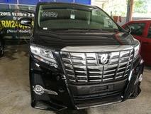 2016 TOYOTA ALPHARD 2.5 SC JBL SOUND SYSTEM AUTO PARKING UNREG 2016