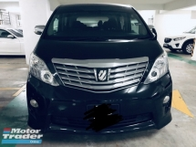 2011 TOYOTA ALPHARD 240S FullSpecs Home Theather Surround Gold Edition