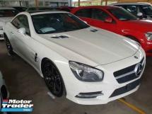 2014 MERCEDES-BENZ SL-CLASS SL400 3.0T V6 AMG Sunroof Local AP Unreg