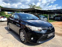 2015 TOYOTA VIOS 1.5 FULL Spec(AUTO)2015.16 Only 1 UNCLE Owner, 31K Mileage, TIPTOP, DIRECT-Owner, LEATHER Seat with DVD, GPS+REVERSE Camera