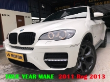2011 BMW X6 E71 X6 3.0 DIESEL XDRIVE40D  TURBO