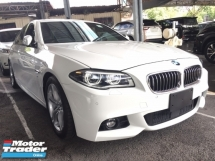 2016 BMW 5 SERIES 520I M SPORT FULLSPEC UNREGISTER.TRUE YEAR MADE CAN PROVE.JPN.SPORT PADDLE SHIFT.ORI M SPORT BODYKIT N RIM.AUTO BRAKE.MEMORY SEAT.LEATHER.REVERSE CAMERA.LED LIGHT.FREE WARRANTY N GIFTS