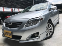 2010 TOYOTA ALTIS 1.8G On The Road Full Loan