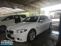 2016 BMW 5 SERIES 520I M SPORT FACELIFT 2016 JAPAN 2.0 TWIN POWER TURBO PRICE NO GST NO GST