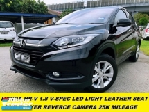 2017 HONDA HR-V V SPEC DVD REVERSE CAMERA 25K MILEAGE FULL SERVICE RECORD UNDER WARRANTLY  DEMO CAR UNIT CONDITION