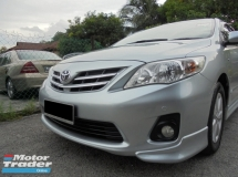 2011 TOYOTA ALTIS 1.6 Dual VVT-i TRD Sportivo Facelift LikeNEW