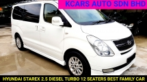 2012 HYUNDAI GRAND STAREX 2.5 Royale DIESEL TURBO 12 SEATERS FREE WARRANTY