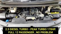 2012 HYUNDAI GRAND STAREX 2.5 Royale DIESEL TURBO 12 SEATERS FREE WARRANTY