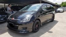 2007 TOYOTA WISH 1.8 Japan Spec New Facelift TRUE YEAR MADE 2007 NO SST Disc Brake Bodykit Smart Door 2012