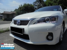 2013 LEXUS CT200H 1.8 Hybrid Keyless PushStart Sport Luxury Facelift