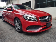 2016 MERCEDES-BENZ A-CLASS 2016 Mercedes A180 AMG Facelift Japan Spec Unregster for sale