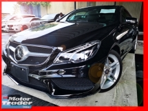 2014 MERCEDES-BENZ E-CLASS E250 COUPE JAPAN SPEC WITH 4 CAMERA N FULL LEATHER - UNREG -