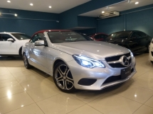 2014 MERCEDES-BENZ E-CLASS E250 AMG Coupe Cabriolet Full Option Spec. HIGHEST Grade CAR. Price NEGOTIABLE. BMW Audi Mercedes