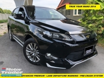 2015 TOYOTA HARRIER PREMIUM ADVANCE LIMITED  360 SEROUND CAMERA POWET BOOT STEERING GOT PRE-CRASH LAND KEEP ASSIST FUNSTION JBL SYSTEM