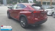 2015 LEXUS NX 200t F Sport UNREG 1 YEAR WARRANTY
