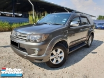 2011 TOYOTA FORTUNER 2.7 4WD (A) FULL LEATHER SEAT