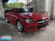 2014 MERCEDES-BENZ SLK Unreg Mercedes Benz SLK200 1.8 AMG Turbo Convetible Top 7G
