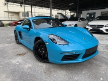 2017 PORSCHE CAYMAN 718 2.0 Turbo ( RACE SPORT PACKAGE ) LIMITED EDITION