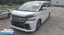 2015 TOYOTA VELLFIRE 2.5 ZG JBL Leather Seat UNREG 1 YEAR WARRANTY